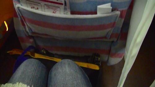 160cmの女性にピッタリ・・って私154cmですけど、足元狭っっ!